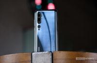 Xiaomi Mi Note 10 back of the phone