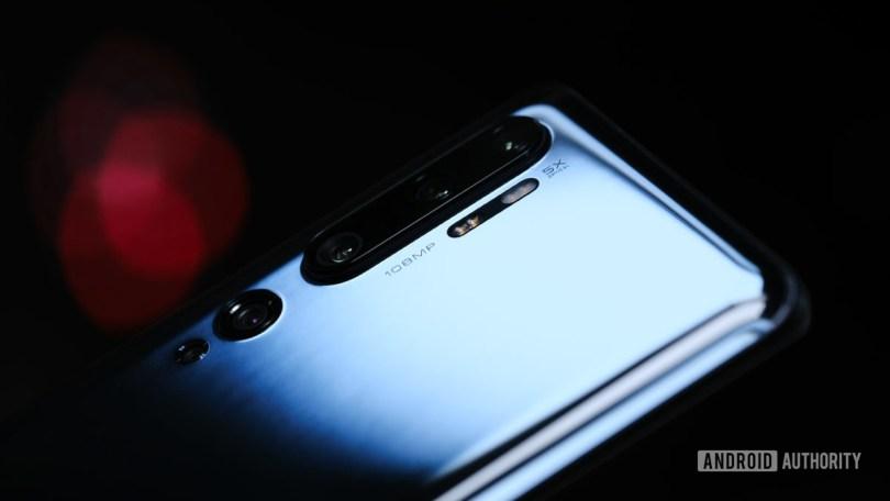 Xiaomi Mi Note 10 cameras hero shot 1