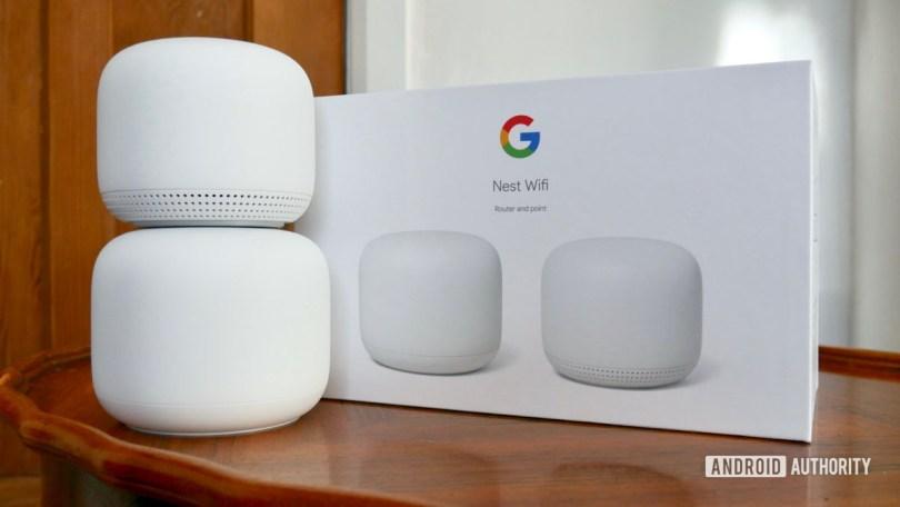 wifi review next to box