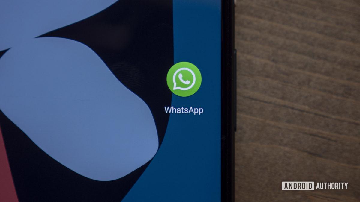значок WhatsApp Google Pixel 4 XL