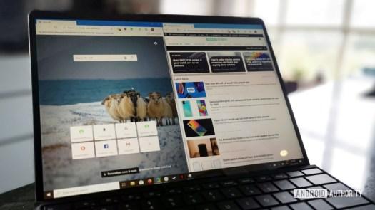Microsoft Edge Chromium Surface Pro X