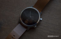 Moto 360 2019 review on table watch face display 2