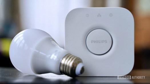 Philips Hue Hub and Bulb