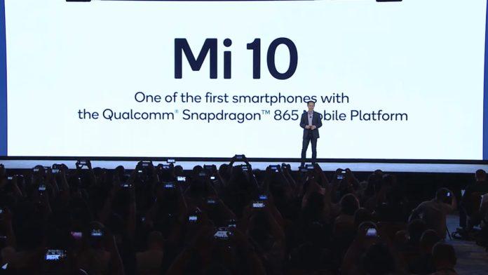 El Xiaomi Mi 10 será uno de varios teléfonos Snapdragon 865.