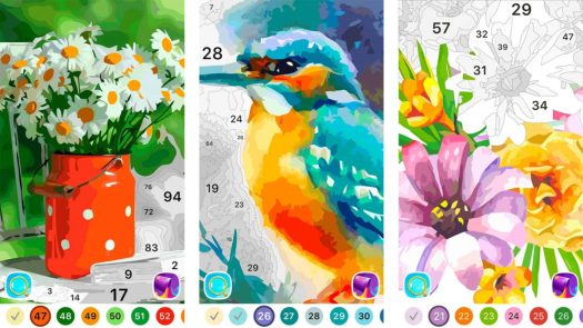 Color by Numbers Oil Painting screenshot