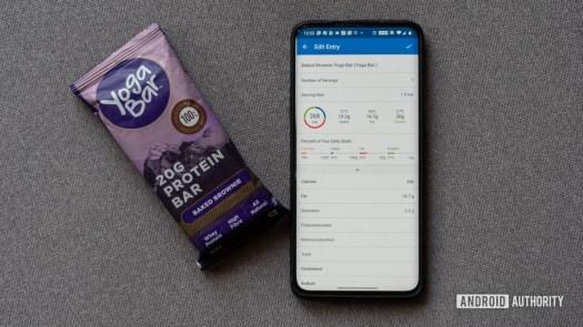 Track calories