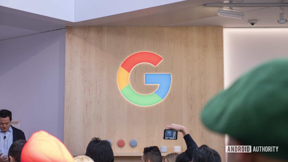 логотип google на выставке ces 20201