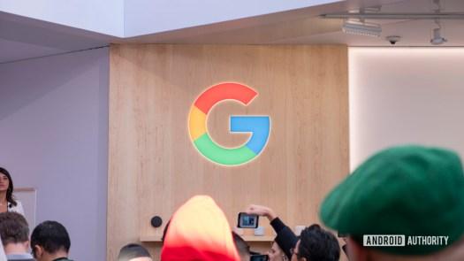 google logo G at ces 20202