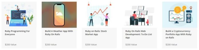 The Complete Ruby on Rails on Ruby Programming Bundle