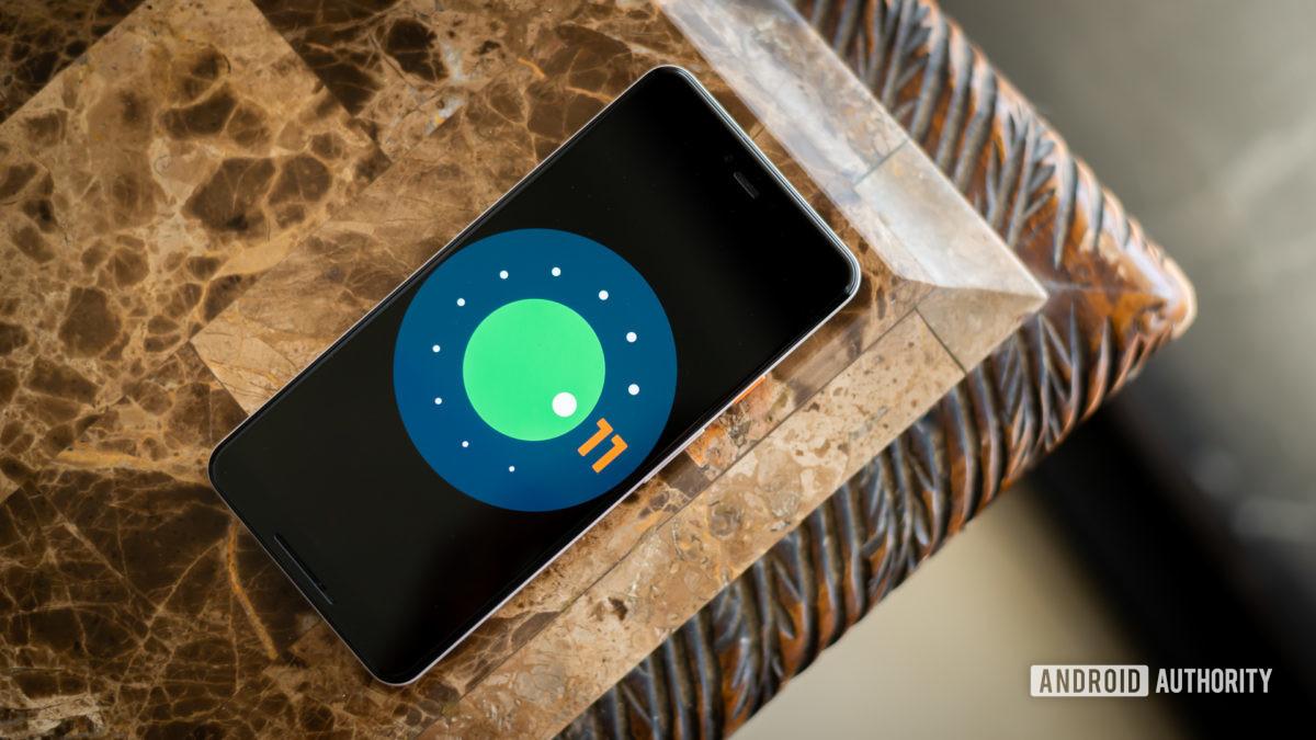 Android 11 логотип стоковое фото 4