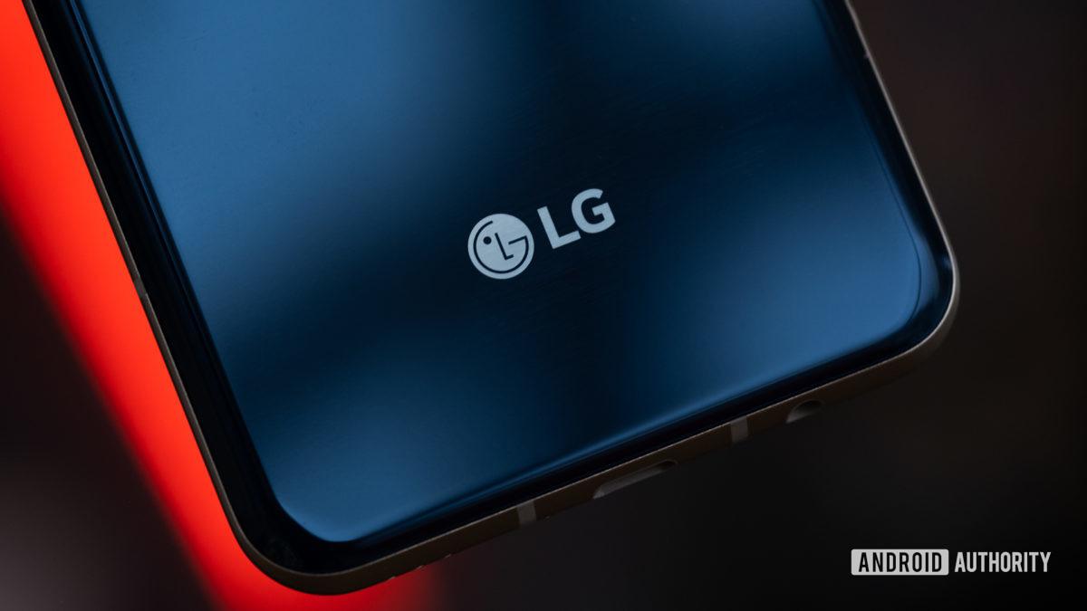Logótipo LG V60 e macro 2 da câmara