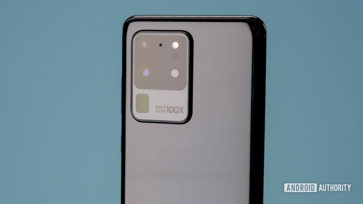 Samsung Galaxy S20 Ultra модуль камеры с большим сенсором камеры