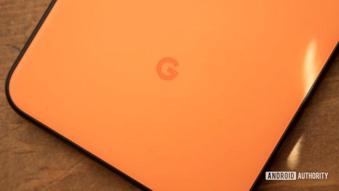 google pixel 4 xl oh so orange google logo 2