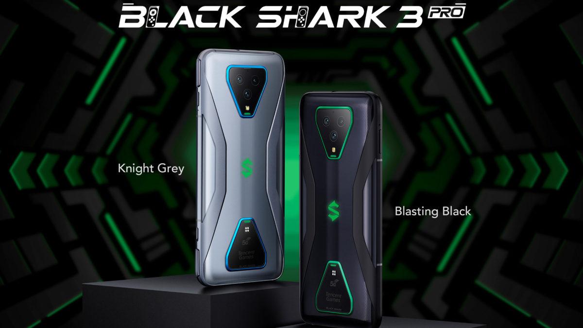 Black Shark 3 and Black Shark 3 Pro smartphones announced
