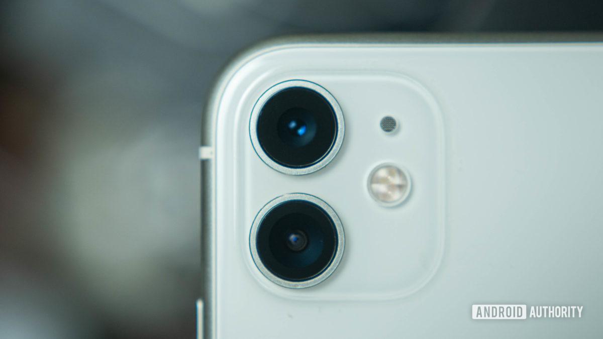 Модуль камеры с двумя камерами Apple iPhone 11