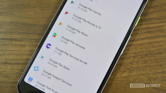 Google Play Services 1
