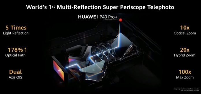 Huawei 10x periscope zoom