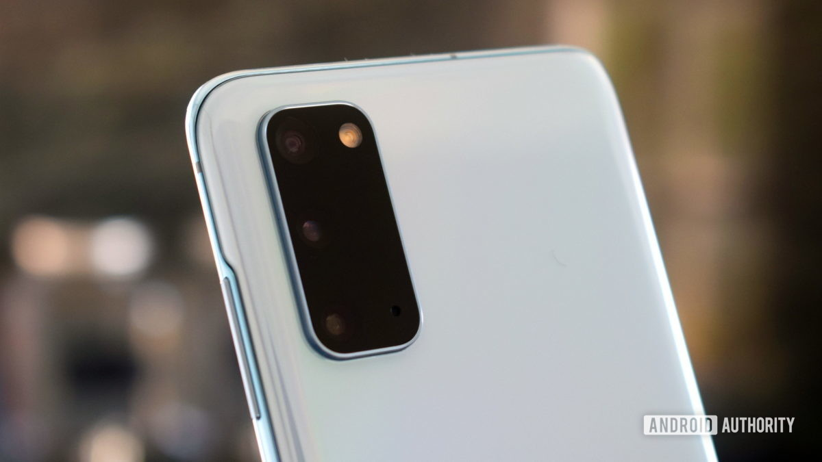 Samsung Galaxy S20 Задняя камера 2