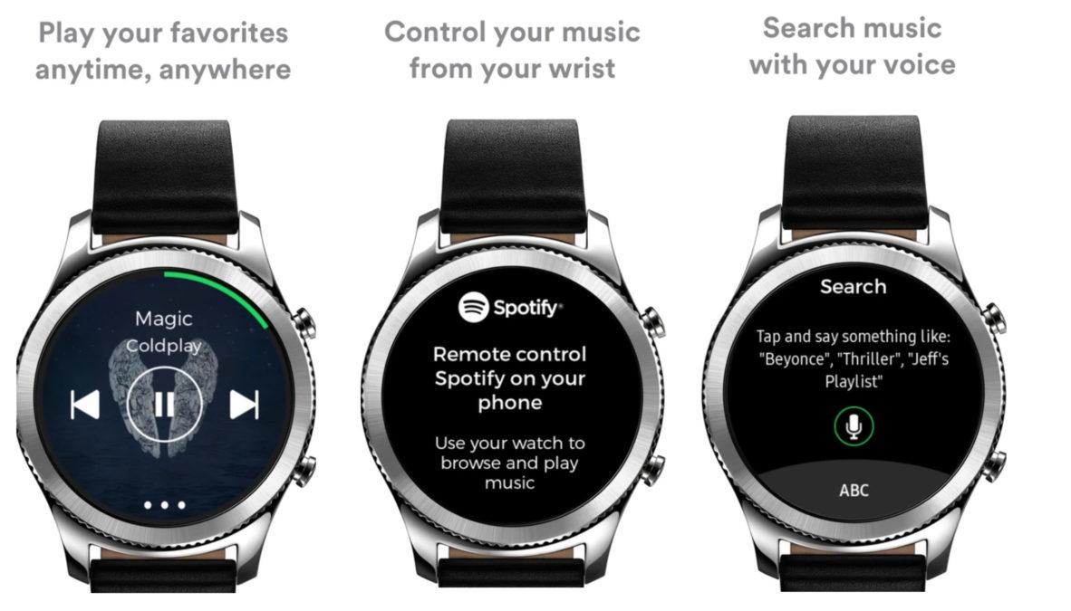 Melhores aplicativos do Spotify Galaxy Watch Active 2