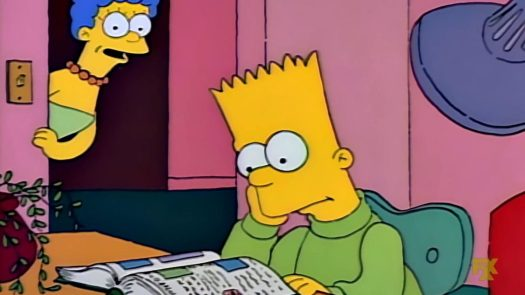 bart gets an f simpsons