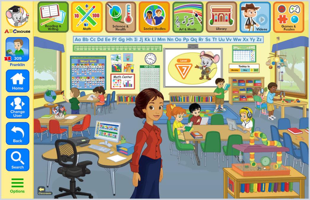 ABCMouse бесплатные учебные ресурсы