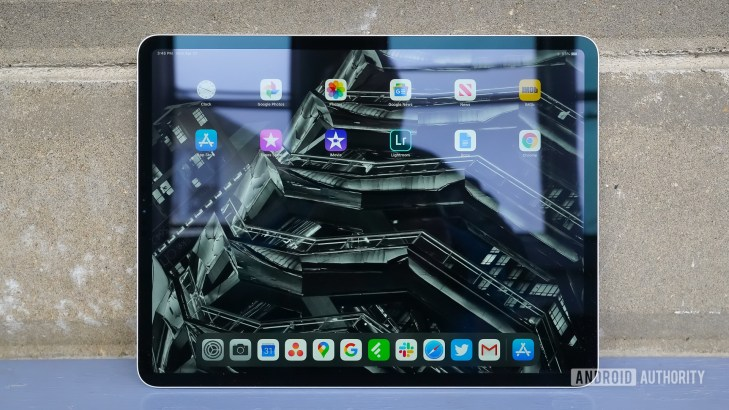 Apple iPad Pro 2020 home screen