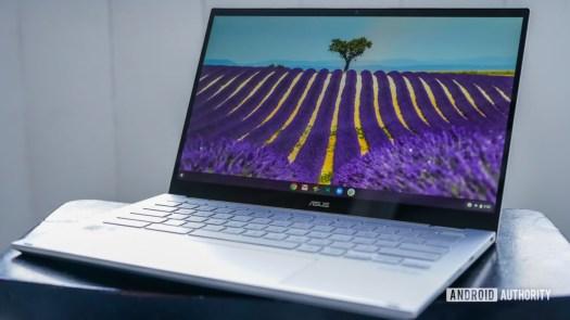 Asus Chromebook Flip C436 review front profile