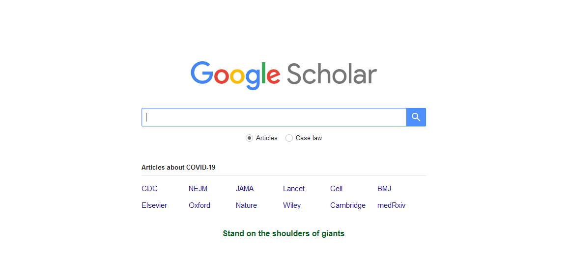 Google ученый