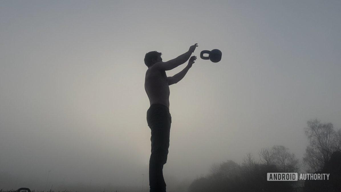 Гиря жонглирование
