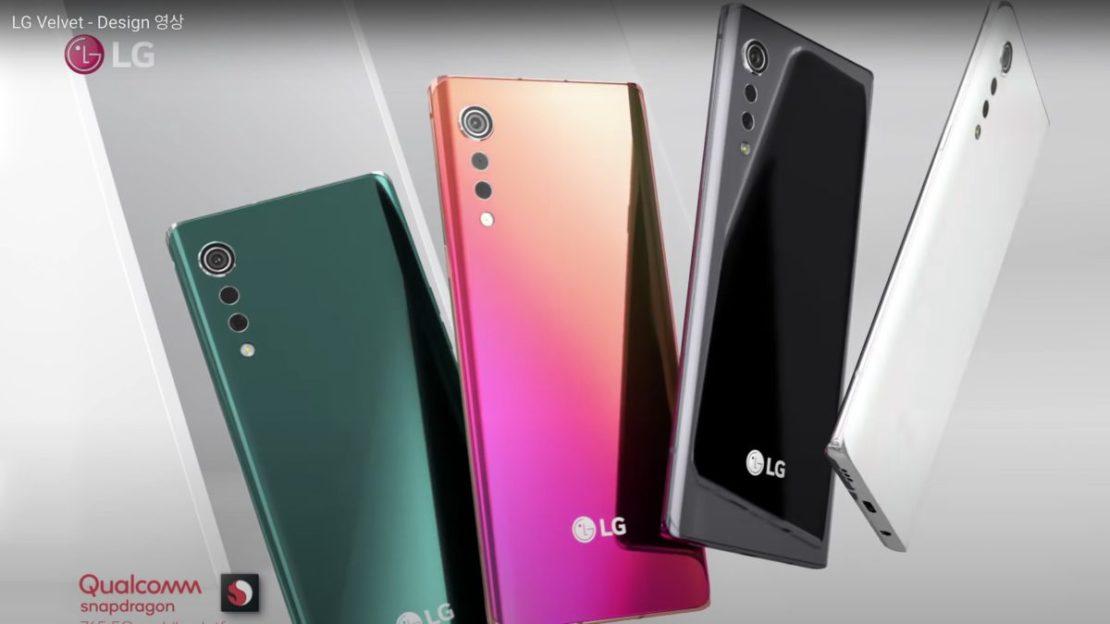 LG Velvet Colorways