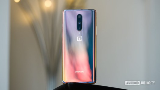 OnePlus 8 Pro back on table
