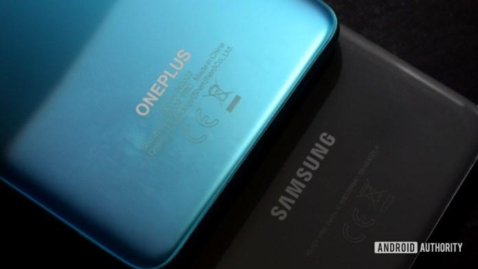 OnePlus versus Samsung