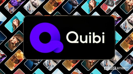 Quibi streaming app on Android smartphone stock photo 7