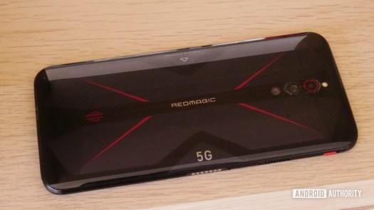 RedMagic 5G 23 back of phone triple camera