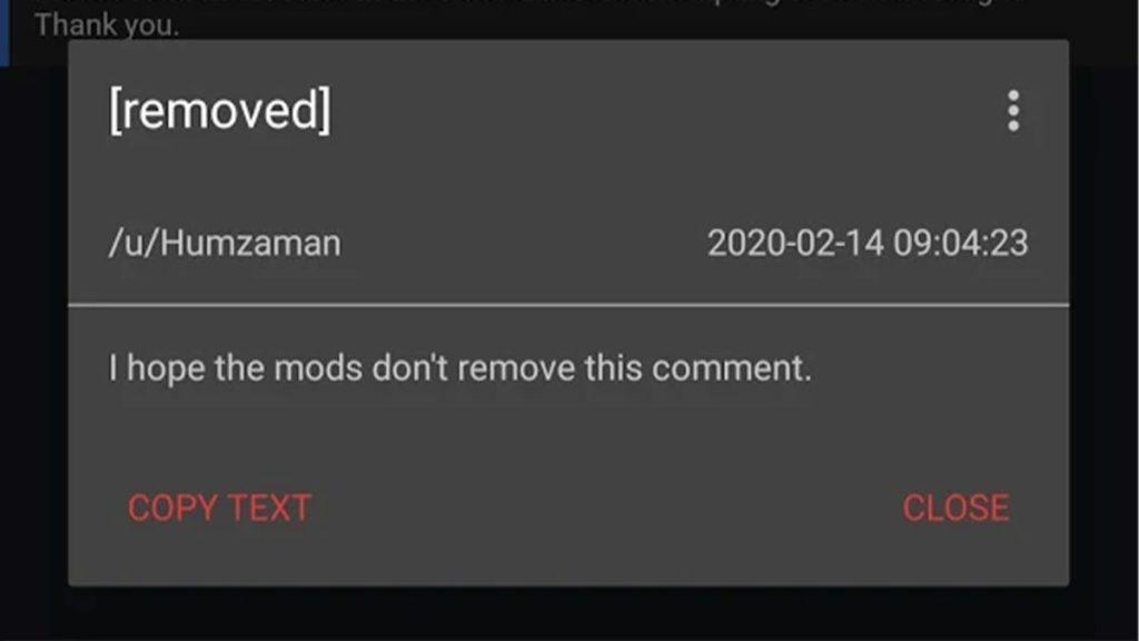 Удалено для reddit