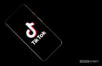 Tiktok stock photo on smartphone