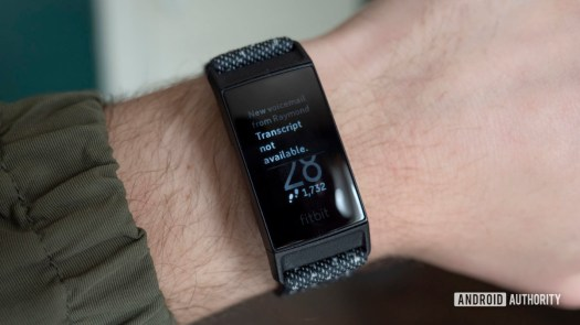 fitbit charge 4 review notifications voicemail