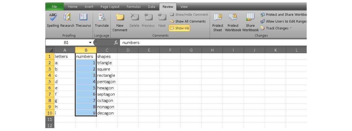 защитить Excel 4