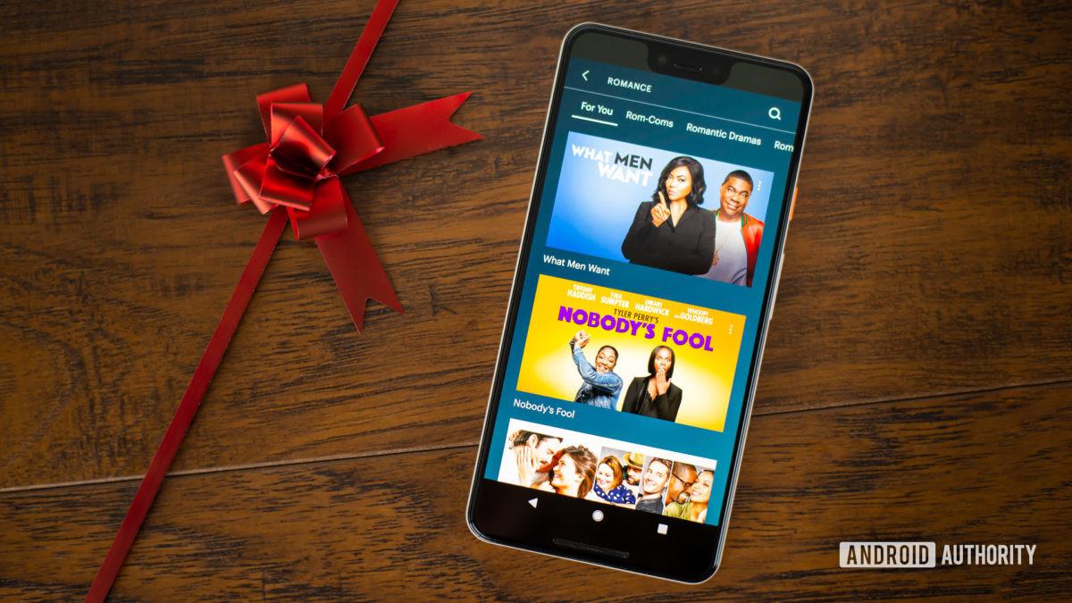 Лучшие романтические фильмы на Hulu стоковое фото