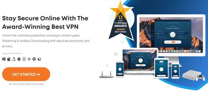 Ivacy VPN homepage VPN deals