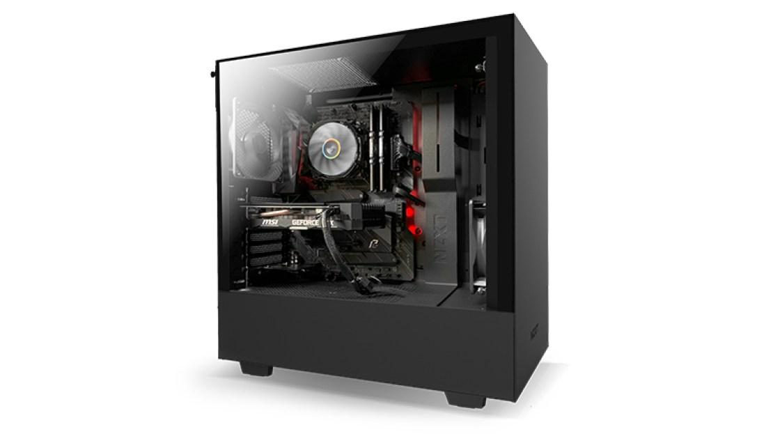 NZXT Starter PC desktop
