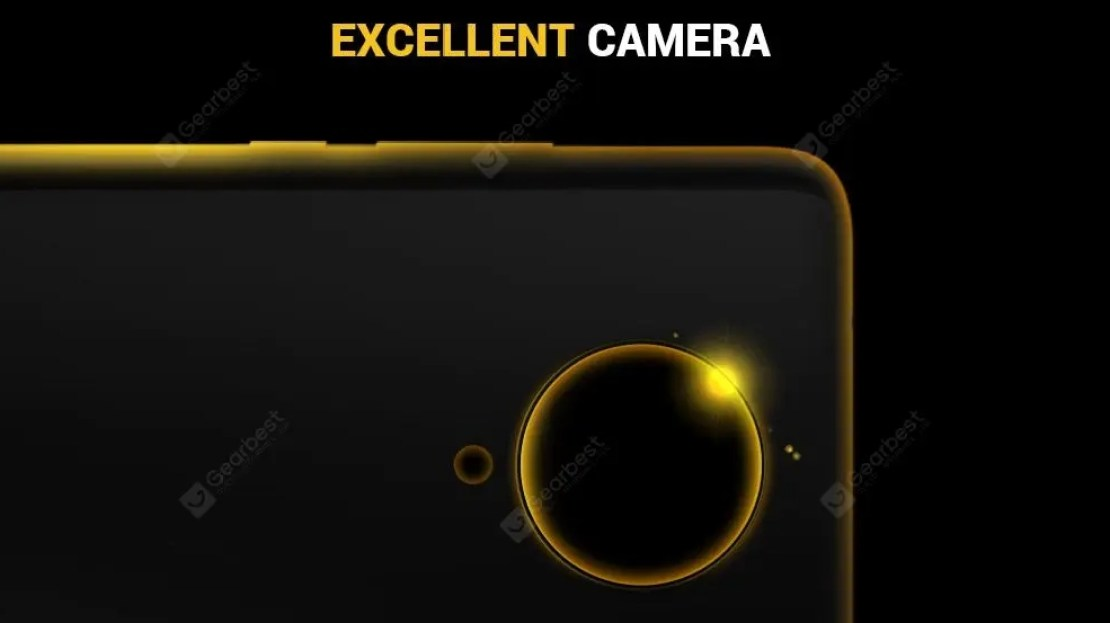 Poco F2 Pro GearBest Teaser Showing Rear Cameras