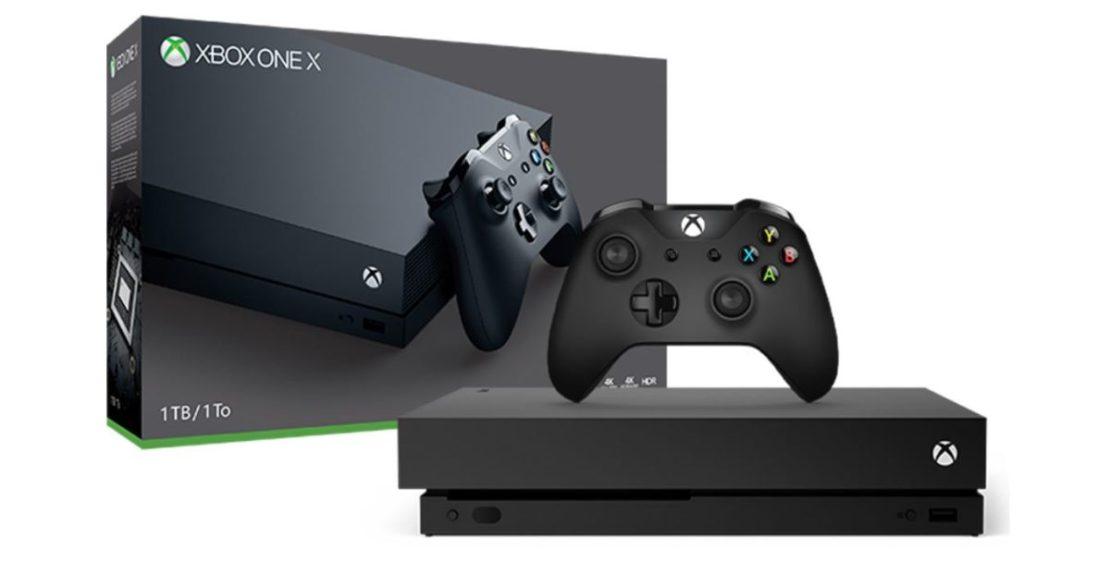 Xbox One X Press Render