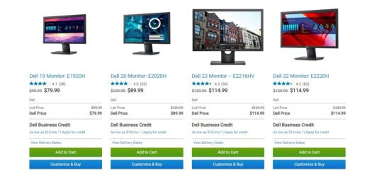 dell affordable monitor sales