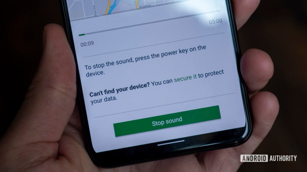 как найти потерянный телефон найти звук воспроизведения моего устройства