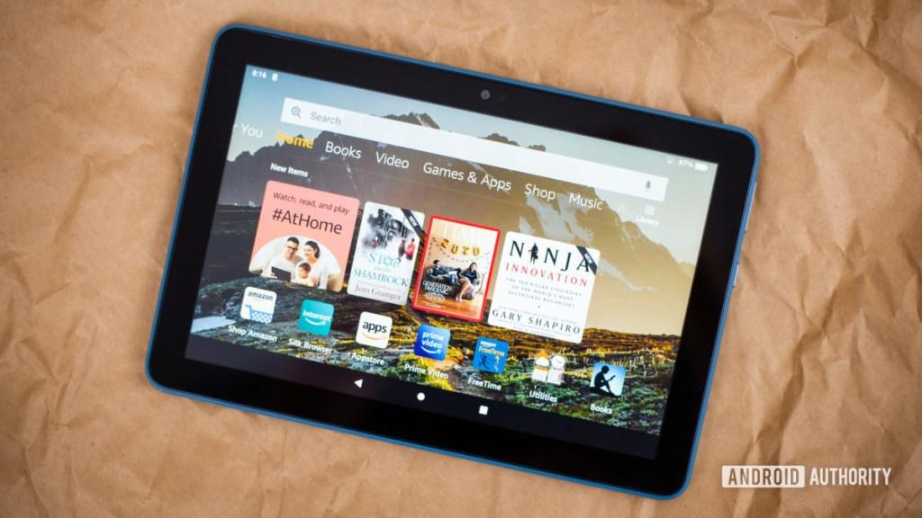 2020 Amazon Fire HD 8 обзор фотографий 10