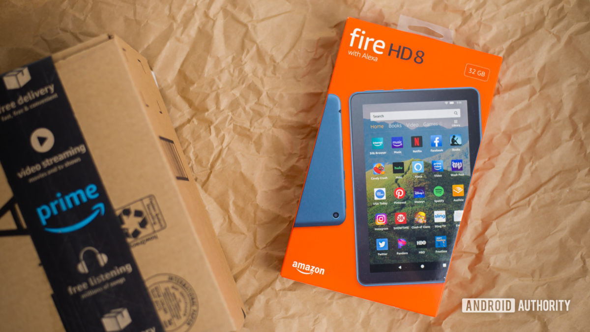 2020 Amazon Fire HD 8 обзор фотографий 2
