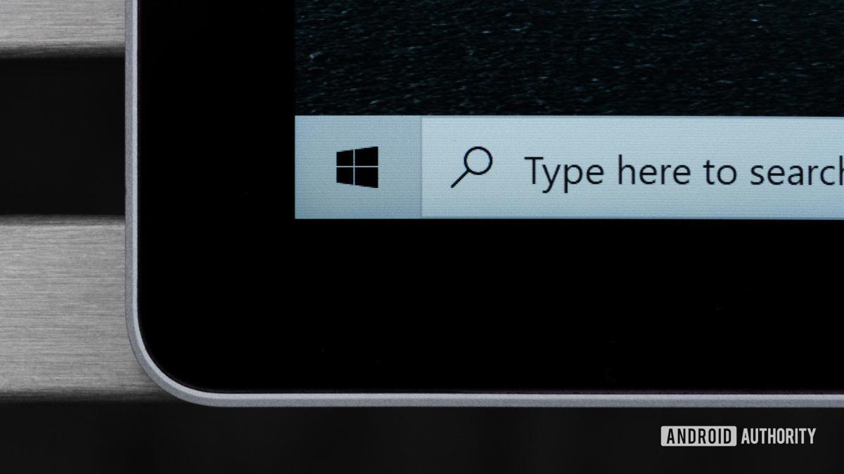 Макрос ободка Microsoft Surface Book 3