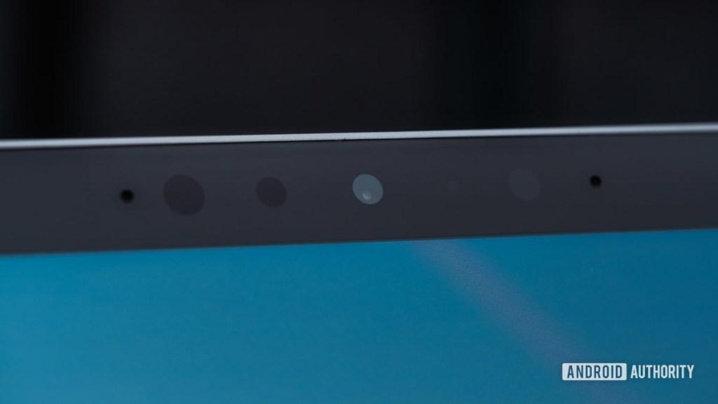 Датчики фронтальной камеры Microsoft Surface Book 3
