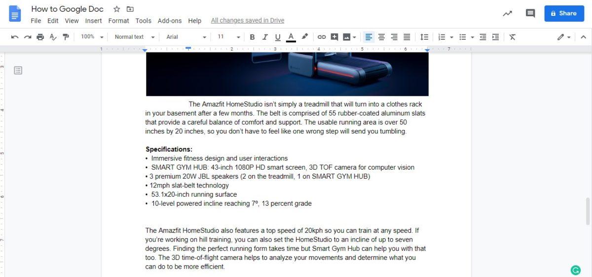 изменить поля Google docs 3